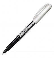 Marker permanent alb Centropen, varf 2,5 mm  width=190px; height=190px;