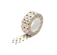 Washi Tape banda decorativa (15mm x 10m) - buline colorate  width=190px; height=190px;