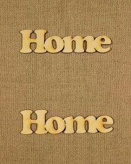 Forme din lemn -  Home (2 buc/set)  width=190px; height=190px;