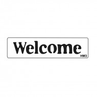 Sablon HM3 mini - Welcome  width=190px; height=190px;