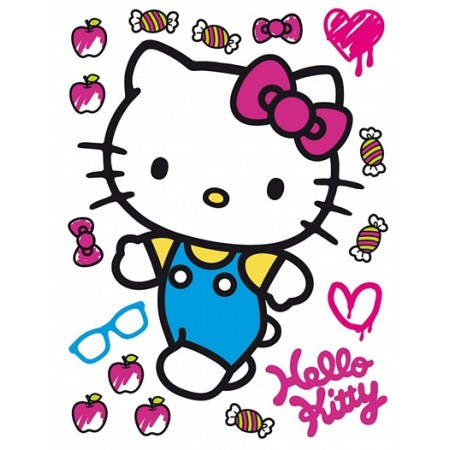 Decor perete cu licenta Disney - Hello Kitty