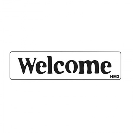Sablon HM3 mini - Welcome