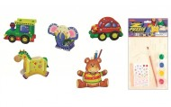 Set asamblare animale si vehicule din furnir 20 x 15 cm   width=190px; height=190px;