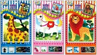 Set mozaic - animale zoo cu flitter  width=190px; height=190px;