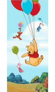 Fototapet - Winnie the Pooh vertical (90x202cm)  width=190px; height=190px;