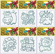 Puzzle colorabil 18x12 cm  width=190px; height=190px;