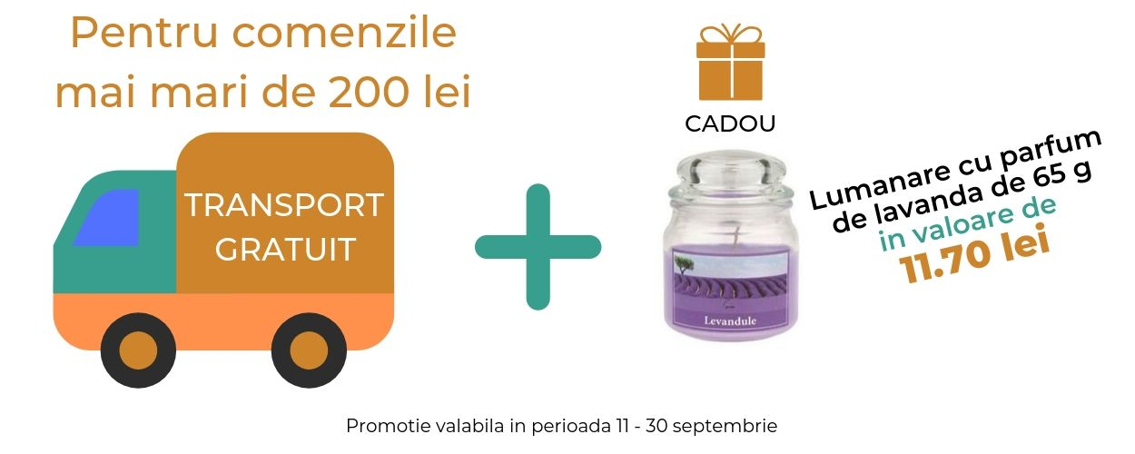 Transport gratuit + Lavanda